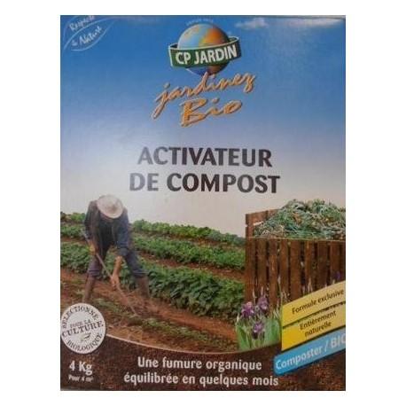 activateur de compost bio CP jardin 4 kg