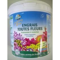 Engrais toutes fleurs, CP jardin, 1 kg