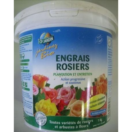 Engrais rosiers, CP jardin, 1 kg