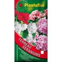 Terreau géraniums, Plantaflor, 70 litres
