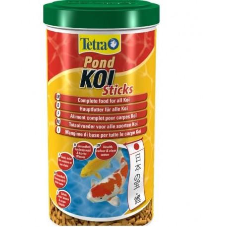 Aliment complet pour carpes Koî sticks, 140 g, Tetra