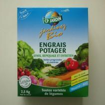 Engrais Bio potager CP 2,5 kg