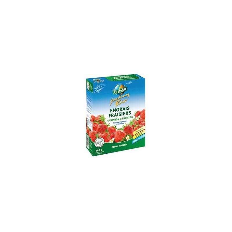 engrais pour fraisiers bio