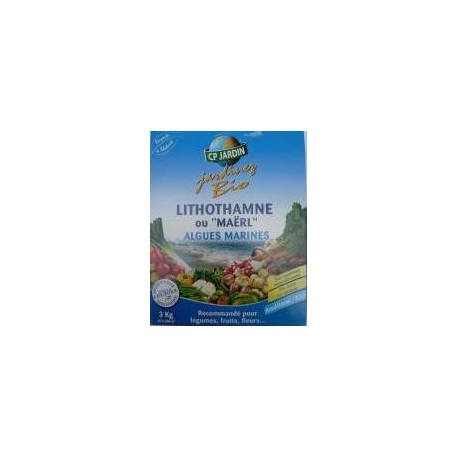"Lithothamne ou ""Maërl"" Algues marines bio, CP 3 kg"